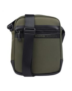 Сумка через плечо MOMO DESIGN. Цвет: зеленый-милитари