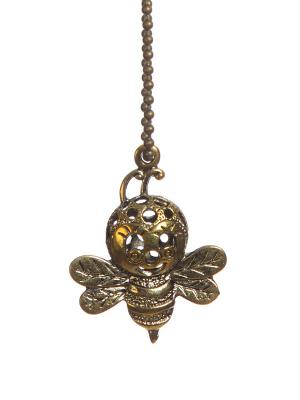 Брелок Пчелка DAVANA. Цвет: темно-коричневый
