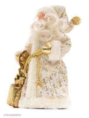 Кукла Дед Мороз 25 см,  золото Новогодняя сказка. Цвет: золотистый, белый
