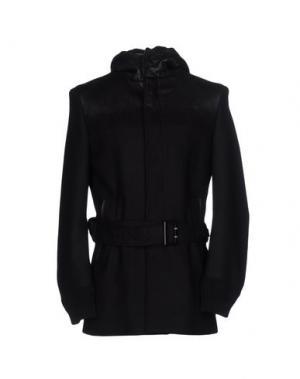 Пальто COSTUME NATIONAL HOMME. Цвет: черный