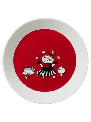 Тарелка Малышка Мю Arabia. Цвет: белый
