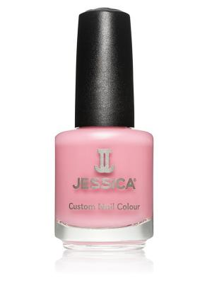 Лак для ногтей  #458 Berry Burst, 14,8 мл JESSICA. Цвет: бледно-розовый