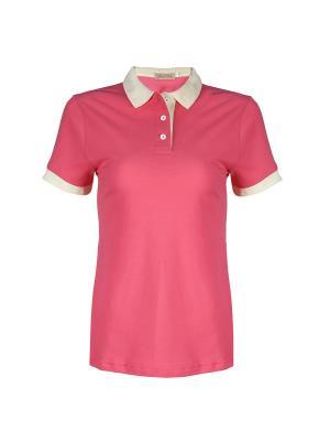 Футболка-поло Dolce Vita. Цвет: бледно-розовый, розовый