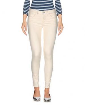 Джинсовые брюки NINE:INTHE:MORNING. Цвет: слоновая кость