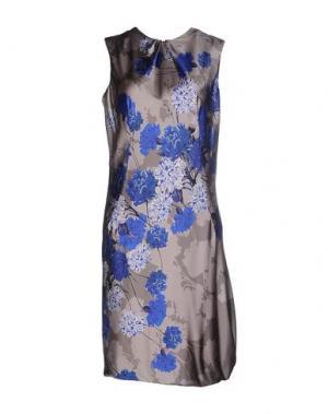 Платье до колена IVAN MONTESI. Цвет: светло-серый