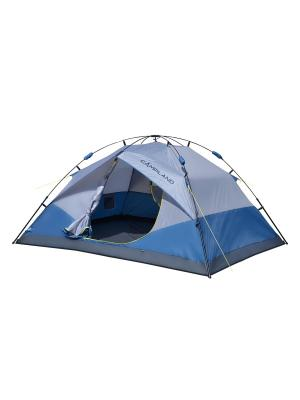 Палатка туристическая быстросборная 4-х местная MARSHAL Campland. Цвет: серо-голубой