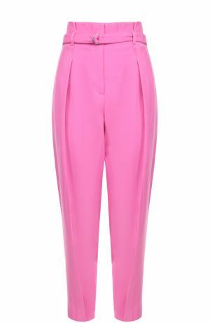Укороченные брюки с завышенной талией и поясом 3.1 Phillip Lim. Цвет: розовый