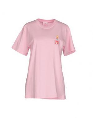 Футболка JOYRICH. Цвет: розовый