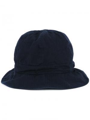 Шляпа 6Panel Kijima Takayuki. Цвет: синий