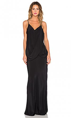 Платье twisted One Fell Swoop. Цвет: черный