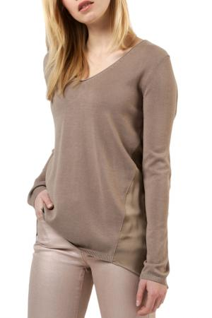 Пуловер REPEAT. Цвет: коричневый