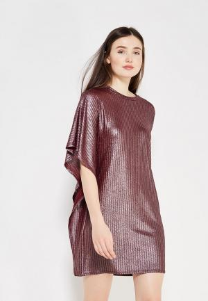 Платье Fashion.Love.Story. Цвет: бордовый