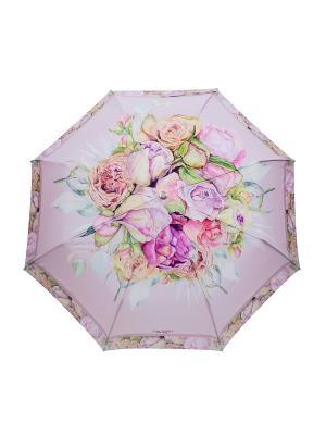 Зонт Slava Zaitsev. Цвет: сиреневый, розовый