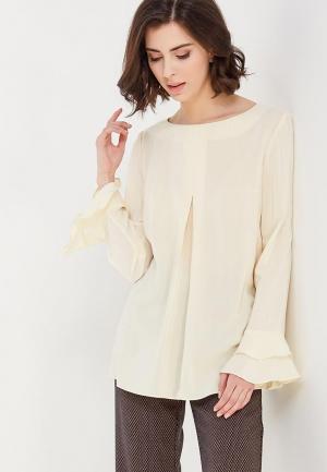 Блуза Devur. Цвет: бежевый