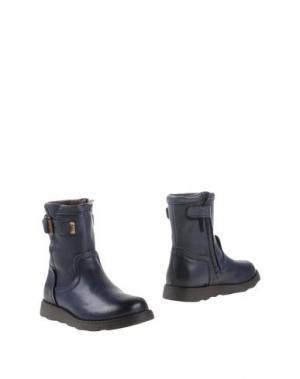 Полусапоги и высокие ботинки BISGAARD. Цвет: грифельно-синий