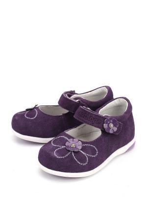 Туфли Антилопа. Цвет: фиолетовый