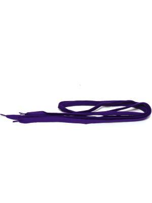 Шнурки Eleon. Цвет: темно-фиолетовый