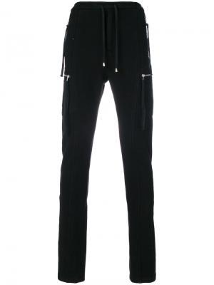 Спортивные брюки с кисточками Cy Choi. Цвет: чёрный