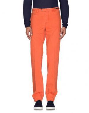 Джинсовые брюки PT01. Цвет: оранжевый