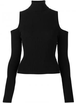 Cold shoulder jumper A.L.C.. Цвет: чёрный
