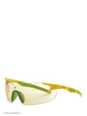 Солнцезащитные очки NRC. Цвет: зеленый