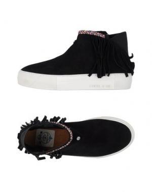 Высокие кеды и кроссовки DOLFIE. Цвет: черный