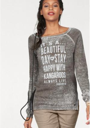 Пуловер Kangaroos. Цвет: хаки