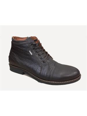 Ботинки MILANA. Цвет: темно-коричневый