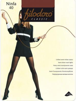 Колготки Filodoro Classic. Цвет: бронзовый