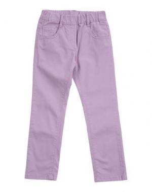 Повседневные брюки EDDIE PEN. Цвет: светло-фиолетовый