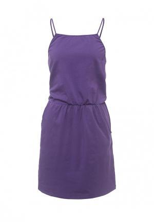 Сарафан Emdi. Цвет: фиолетовый