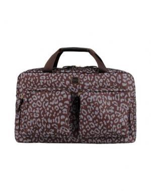 Деловые сумки BRIC'S. Цвет: темно-коричневый