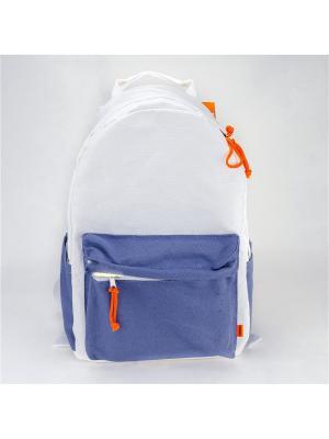 Городской рюкзак TIMBAG. Цвет: сиреневый, белый