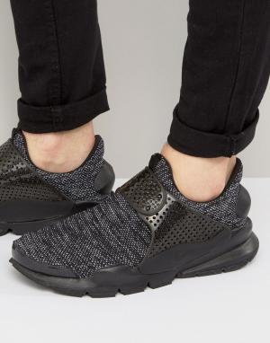 Nike Черные дышащие кроссовки Dart 909551-001. Цвет: черный