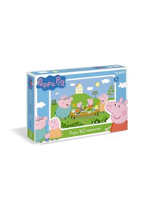 Пазл.160A Peppa Pig. Цвет: зеленый, голубой, розовый
