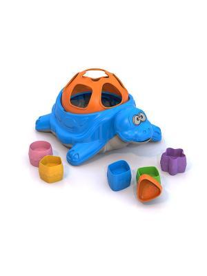 Сортер Нордпласт.. Цвет: синий, оранжевый