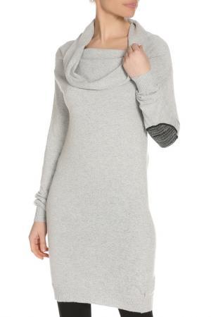 Платье LEIDIRO. Цвет: серый