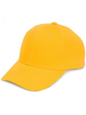 Кепка с логотипом Please Add F.A.M.T.. Цвет: жёлтый и оранжевый