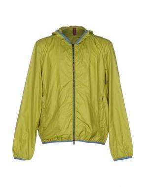 Куртка COCHRANE. Цвет: кислотно-зеленый