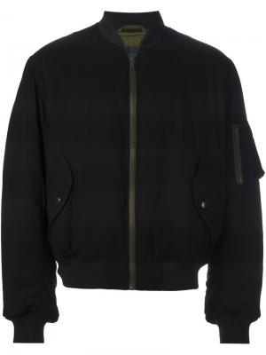 Куртка-бомбер с карманами Haider Ackermann. Цвет: чёрный