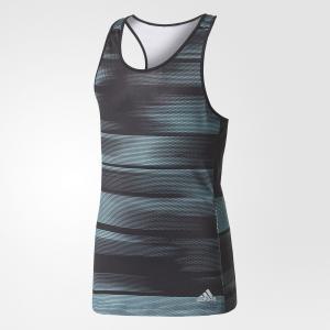 Майка для тенниса Advantage Trend  Performance adidas. Цвет: черный