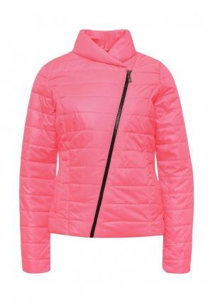 Куртка утепленная SK House. Цвет: розовый