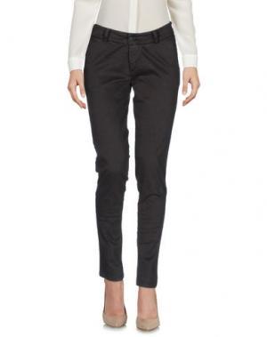 Повседневные брюки ANOTHER LABEL. Цвет: темно-коричневый