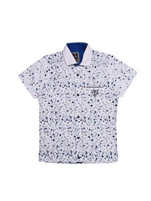 Рубашки CEGISA. Цвет: синий, белый