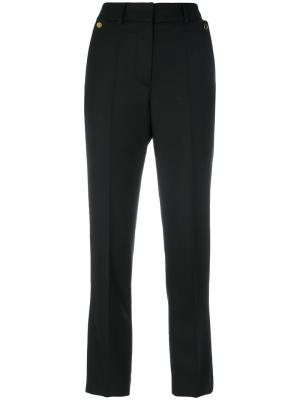Cropped tailored trousers Petar Petrov. Цвет: чёрный