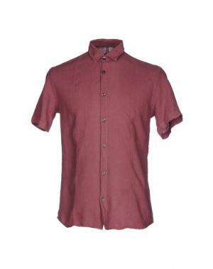 Pубашка DAVID NAMAN. Цвет: пурпурный