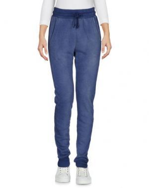 Повседневные брюки WILDFOX. Цвет: синий
