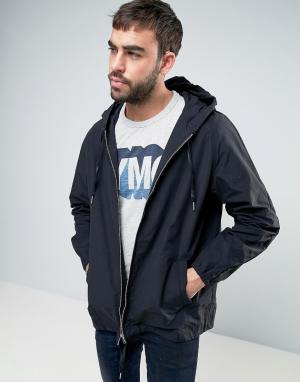 YMC Куртка с капюшоном. Цвет: черный