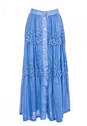Юбка ALTER EGO. Цвет: голубой