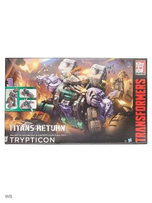 Трансформеры дженерейшнс: триптикон Transformers. Цвет: черный, фиолетовый